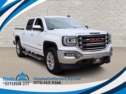 Used 2018 GMC Sierra 1500 SLT Truck Crew Cab for sale in Jefferson City, MO