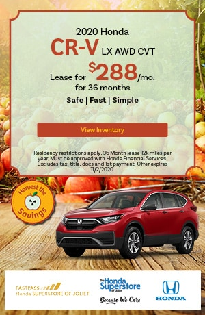 October   2020 Honda CR-V LX AWD CVT   Lease