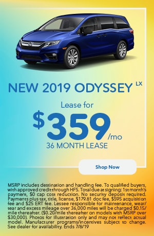 2019 Odyssey Offer - June