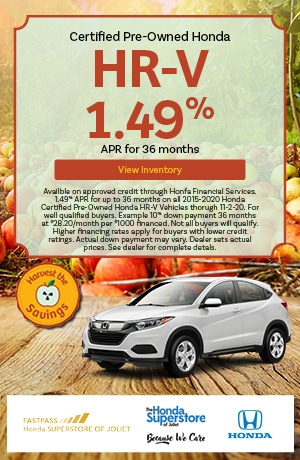 October | 2015-2020 Honda HR-V | 1.49% APR