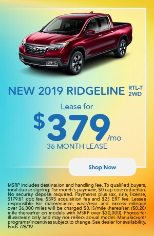2019 Ridgeline Offer - June