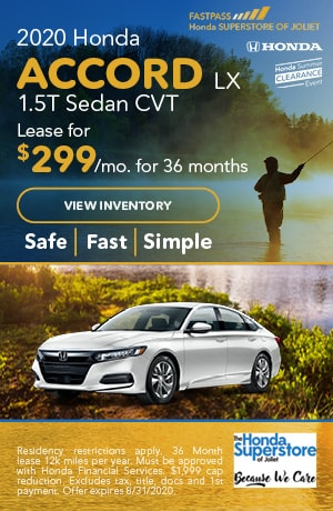 July | 2020 Honda Accord LX 1.5T Sedan CVT | Lease