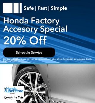 Honda Factory Accesory Special