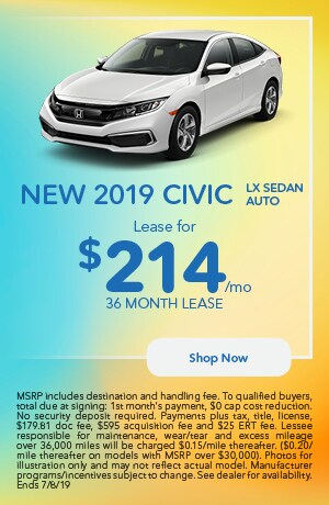 2019 Civic Offer - June