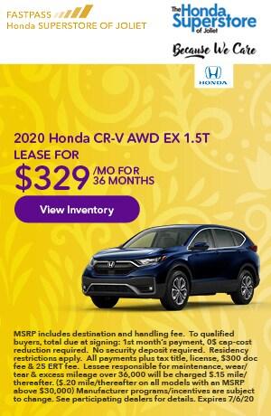 June | 2020 Honda CR-V AWD EX 1.5T | Lease