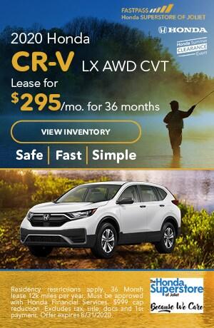 July | 2020 Honda CR-V LX AWD CVT | Lease