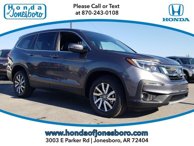 New 2019 Honda Pilot EX-L AWD SUV in Jonesboro, AR