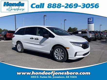 New 2021 Honda Odyssey LX Auto Mini-van, Passenger for sale in Jonesboro, AR