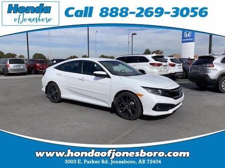 New 2021 Honda Civic Sport CVT Car for sale in Jonesboro, AR