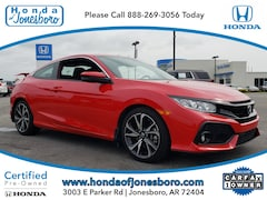 Certified pre-owned 2017 Honda Civic Si Coupe in Jonesboro, AR