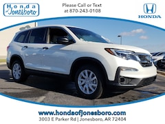 New 2019 Honda Pilot LX AWD SUV for sale in Jonesboro