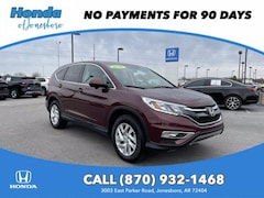 Certified Pre-Owned 2016 Honda CR-V 2WD 5dr EX Sport Utility For Sale in Conway, AR