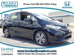 Certified pre-owned 2017 Honda Fit EX Hatchback in Jonesboro, AR