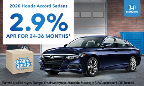 2.9% APR for 24-36 Months*