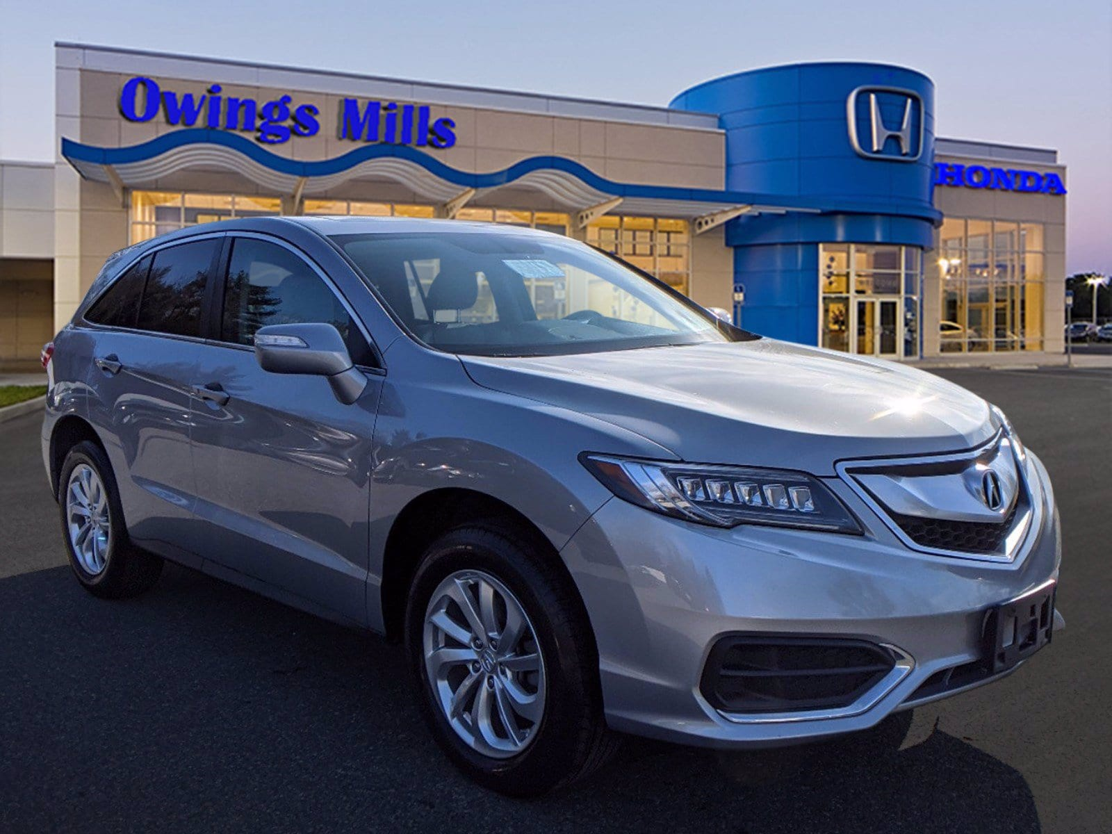 Used Acura Rdx Owings Mills Md