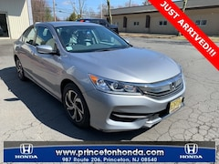 Princeton NJ 2016 Honda Accord LX Sedan Princeton NJ