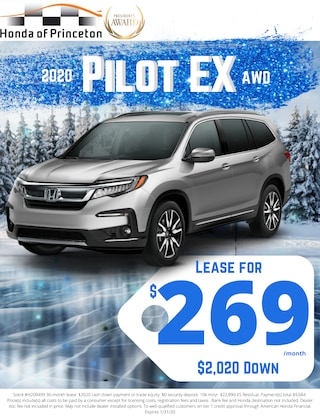 Lease new Pilot for just $269!