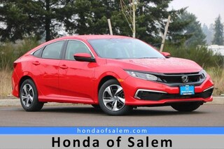 New 2020 Honda Civic LX Sedan Salem, OR