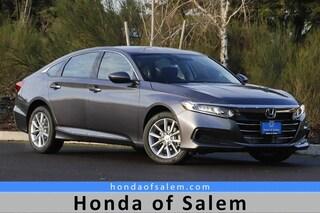 New 2021 Honda Accord LX 1.5T Sedan in Salem, OR