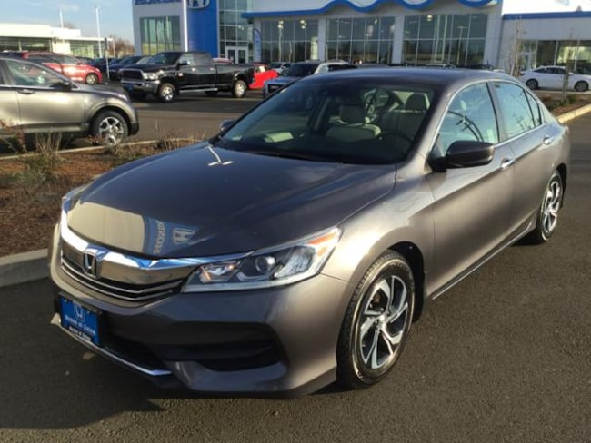 Used 2016 Honda Accord LX w/Honda Sensing Sedan Salem, OR