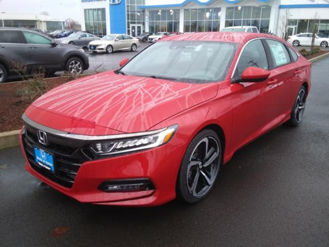 New 2019 Honda Accord Sport Sedan Salem, OR