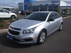 2016 Chevrolet Cruze Limited LS Manual Sedan Salem, OR