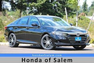 New 2021 Honda Accord Hybrid Touring Sedan Salem, OR