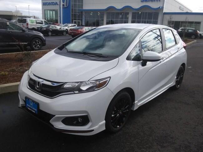 New 2019 Honda Fit Sport Hatchback Salem, OR