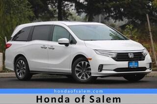 New 2021 Honda Odyssey EX-L Van Salem, OR