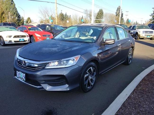 Used 2017 Honda Accord LX Sedan Salem, OR