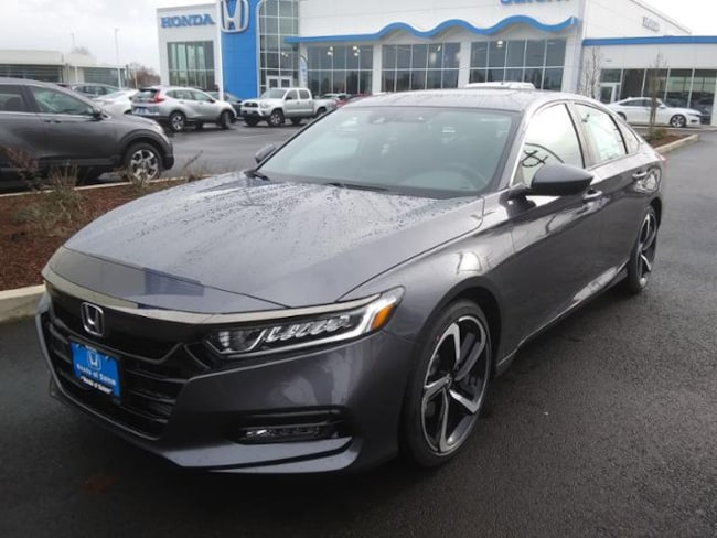 New 2019 Honda Accord Sport 2.0T Sedan Salem, OR