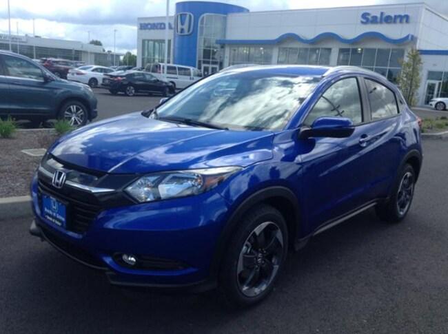 New 2018 Honda HR-V EX-L w/Navigation AWD SUV Salem, OR