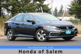 New 2020 Honda Civic LX Sedan in Salem, OR