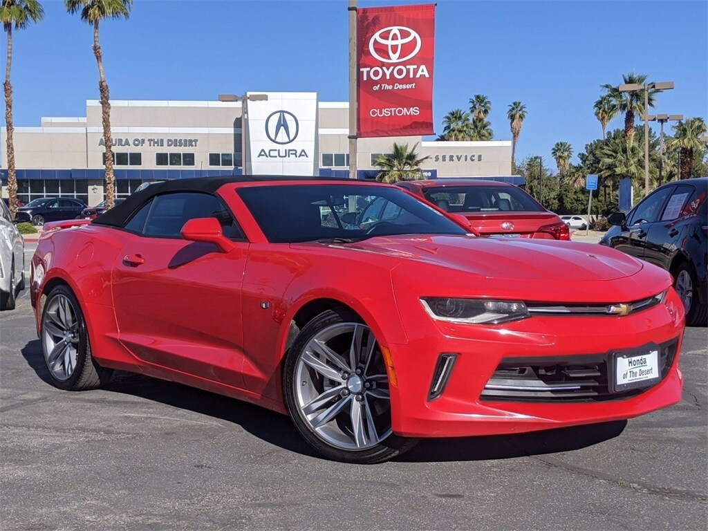 Used Chevrolet Camaro Cathedral City Ca