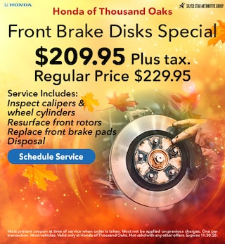 Front Brake Disks Special