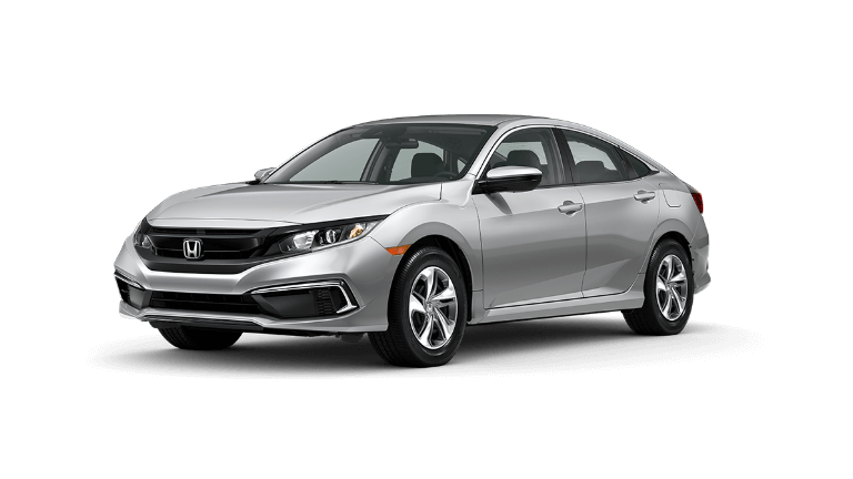 2020 Honda Civic LX in Lunar Silver