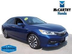 Certified 2017 Honda Accord Hybrid Base Sedan for Sale in Overland Park, KS