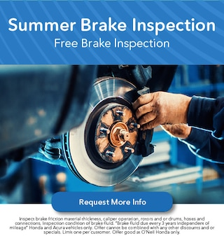 Summer Brake Inspection