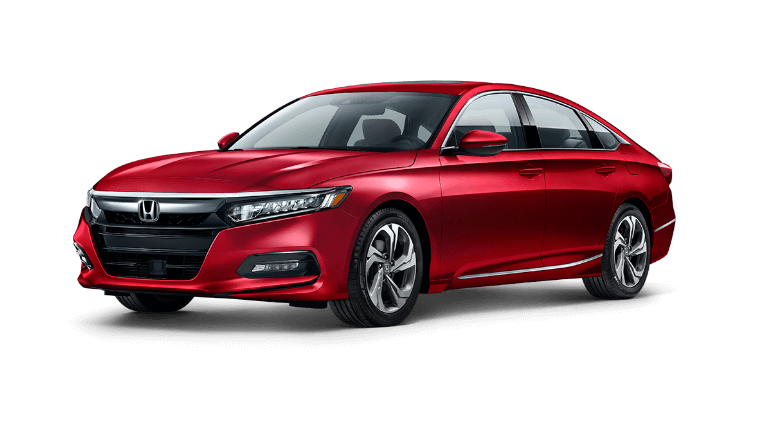 2020 Honda Accord in radiant red