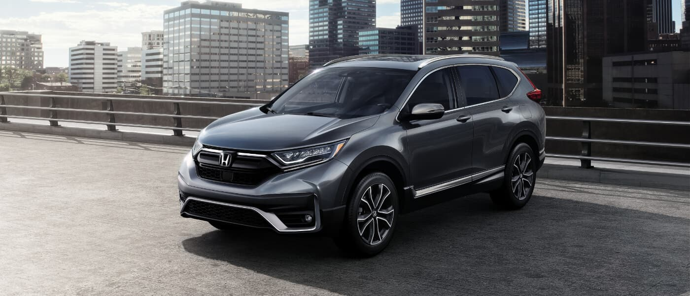 2020 Honda CR-V parked