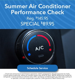 Summer Air Conditioner Performance Check