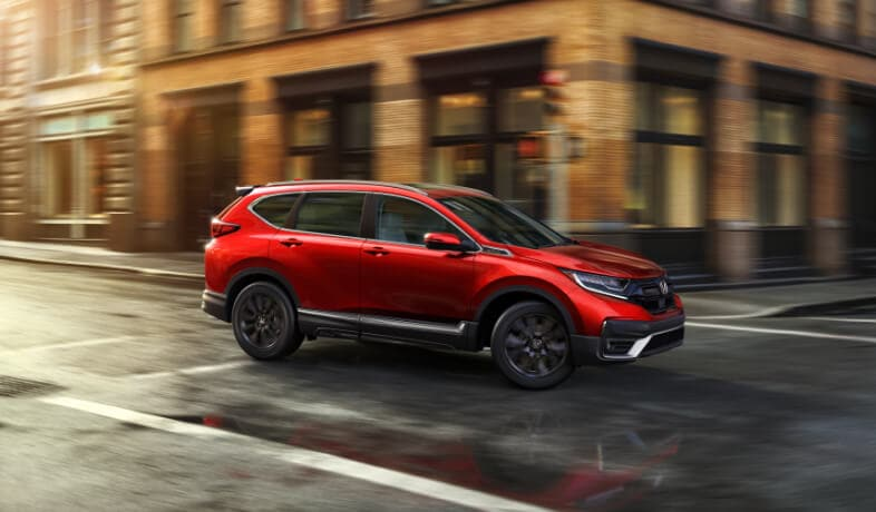 2020 Honda CR-V in red