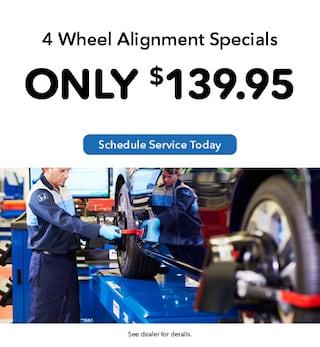 4 Wheel Alignment Specials