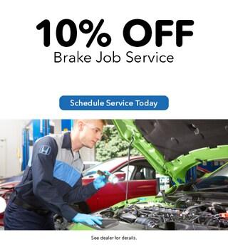 10% Off Brake Job Service