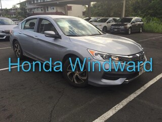 Used 2017 Honda Accord LX Sedan 1HGCR2F36HA077561 near Honolulu, HI