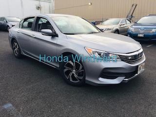 Used 2017 Honda Accord LX Sedan 1HGCR2F34HA098750 near Honolulu, HI