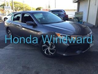 Used 2017 Honda Accord LX Sedan 1HGCR2F34HA151298 near Honolulu, HI