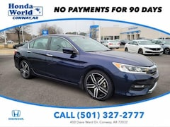 Used 2017 Honda Accord Sport CVT Car For Sale in Conway, AR