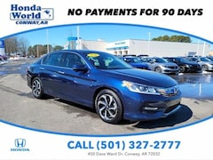 Used 2016 Honda Accord 4dr V6 Auto EX-L Car For Sale in Conway, AR