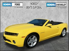 Used Vehicles for sale 2012 Chevrolet Camaro 1LT Convertible in Elizabethtown, PA